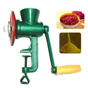 Commercial Home Wheat Grinder Corn Grain Mill Nut Manual Hand Alloy Iron Us