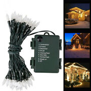 50/100/200m Outdoor String Light Christmas Lights Battery Operated String Light