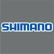 Shimano Blue/white Carpet Graphic Decal Sticker For Fishing Bass Boats