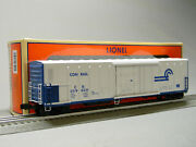 Lionel Conrail Smoking 57and039 Mechanical Reefer O Gauge Rolling Stock 2026500 New