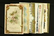 Vintage Lot Holiday Postcards Happy New Years Day Greetings 1908-1919