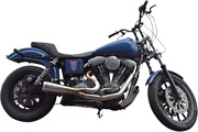 Bassani Ripper 2-1 Chrome Motorcycle Exhaust 91-05 Harley Dyna Fxdb Fxdl