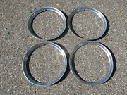 Lot Of 4 1946 Dodge Chrysler Plymouth Ford 15 Inch Beauty Rings Trim Rings
