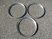 Lot Of 3 1946 Dodge Chrysler Plymouth Ford 16 Inch Beauty Rings Trim Rings