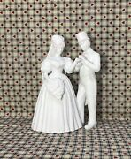 Department 56 Silhouette Treasures To Have And To Hold Porcelain Bride Groom Nice