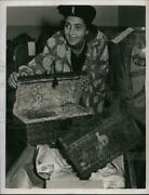 1947 Press Photo Romantic Old Chests To Be Sold
