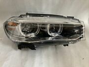 2015 Bmw X5 Right Side Oem Adaptive Hid Xenon Headlight For Parts Only