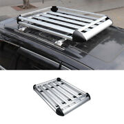 Aluminum Silver Roof Rail Luggage Rack Carrier For Jeep Grand Cherokee 2011-2021