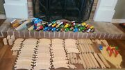 All Genuine Thomas The Train Wooden Trains/tracks/accesories Lot
