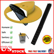Creative Flip N Slide Bucket Lid Mouse Trap With Ladder Auto Mouse Trap Plastic