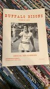 Buffalo Breskis Bisons 1979 Official Yearbook 'autographed' Womens Pro Softball