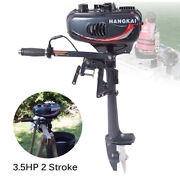 Outboard Motor Boat Engine 2 Stroke 3.5 Hp Marine Engine Water Cooling For Yacht
