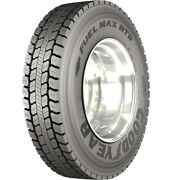 4 New Goodyear Fuel Max Rtd 295/75r22.5 Load G 14 Ply Drive Commercial Tires