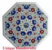 Marble Dining Table For Dining Room Marble Inlay Marquetry Floral Garden Table
