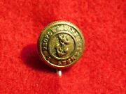 Vintage Hudson River Ny Ship Steamboat Peopleand039s Line Steamers Button