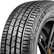 4 New Continental Crosscontact Lx Sport 215/60r17 96h A/s All Season Tires