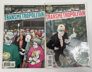 Helix Transmetropolitan Vol 1 Issues 1 And 2 - Very Good Condition
