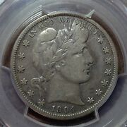 1904-s Pcgs F-15 Barber Half Dollar Lity And Most Of Ber Key Date