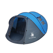 Pop Up Tent 4-6 Person Outdoor Automatic Tents Double Layers Camping Hiking Tent