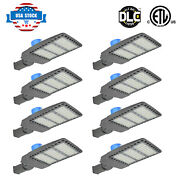 300w Dusk To Dawn Led Street Light Outdoor Ip65 Waterproof Super Bright 8-pack