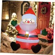 5 Ft Christmas Inflatable Santa Claus Led Lights Indoor Outdoor Yard Lawn