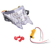 Motorcycle Clear Led Tail Brake Lights Taillamp For Bmw S1000rr 2010-2015 2014