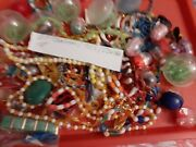 Vintage Gumball/vending Charms/toys/jewelry/madi Gras Beads Lot Of 75+