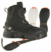 Korkers Deviland039s Canyon Fishing Wading Boot W/ Felt And Kling-on Soles