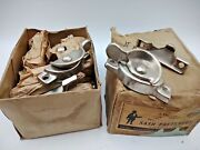 27. Vintage Sash Fasteners Cast Iron With Screws Penn Hardware Co, New With Box