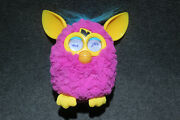 Furby Boom 2012 Flare Hot Pink Yellow Blue - Tested And Working A3149