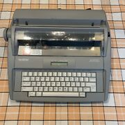 Brother Sx-4000 Portable Daisy Wheel Electronic Lcd Display Typewriter Tested
