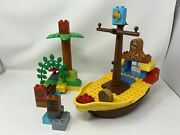 Lego Duplo Jake And The Neverland Pirates Lot 10514 Incomplete