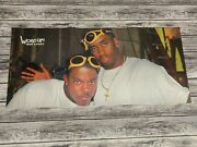 Vintage Mase And Puffy Lil Kim Double Side Poster 90's Hiphop Puff Daddy