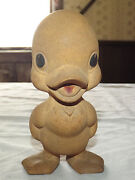 Vintage Rempel Mfg Co Pat Pend Rubber Squeak Toy Chick