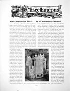 Antique Old Print Miscellaneous Some Remarkable Stoves L Pfauwpages 1911