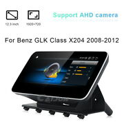 12.3android Car Gps Player Video Auto Unit Carplay For Benz Glk X204 2008-2012