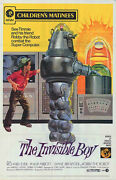 The Invisible Boy Original One Sheet Movie Poster Robby The Robot/richard Eyer