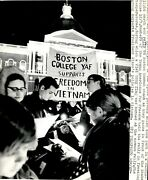 Lg896 1969 Wire Photo Young Americans For Freedom Candle-light March Boston