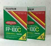 [new 2-packs Expired 11/2017] Fujifilm Fp-100c Instant Color Film From Japan