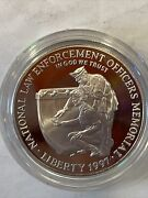 United States Mint National Law Enforcement Officers Memorial Coin 1997 P As