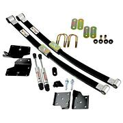 Ridetech 1967-1970 Mustang Composite Leaf Spring And Hq Shock Kit 12104810