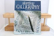 Vintage Starting Calligraphy Osmiroid Creative Leisure Series 64 Page Book