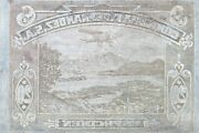 American Bank Note Company World Printing Plate - Abnc Stamp Plate
