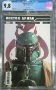 Doctor Aphra 24 Galactic Icons Variant - Cgc 9.8 - Boba Fett Cover