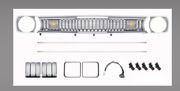 Oer 1971-72 Duster 340 / Twister 340 Sharktooth Grill Assembly Ma1000