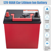 12v 24ah Lithium Iron Battery Lifepo4 For Automobile Bms Dual Power Emergency