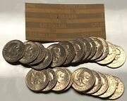 1979-p Susan B Anthony 1 One Dollar Coin Roll Of 25 Philadelphia Circulated