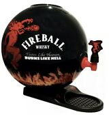 Fireball Whiskey Party Ball Whiskey Dispenser Fathers Day Gift. Rare