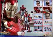Mms427 Hot Diecast 1/6 Scale Figure Spiderman Homecoming Iron Man Mark 47