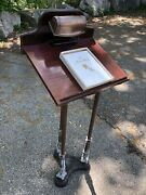 Antique Vintage Ornate Lectern Bible Book Stand For Wedding Prom Funeral And More